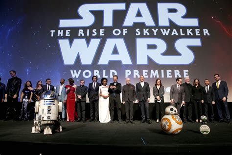 """Inside the Rise of Skywalker Premiere: """"Well, This Is"""