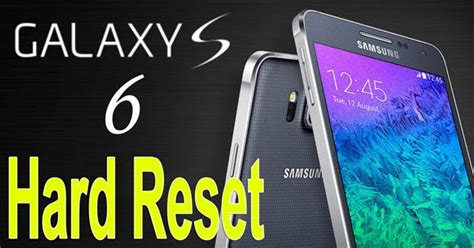Samsung Data Recovery: How to Factory Reset Samsung Galaxy