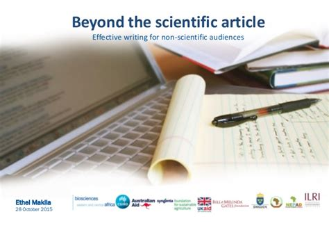 Popular science writing: Beyond the scientific article