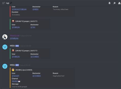 Create a good discord server based on the server topic by