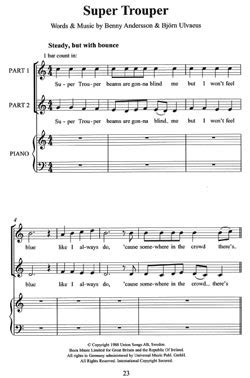 The Novello Primary Chorals: Easy ABBA (SS)