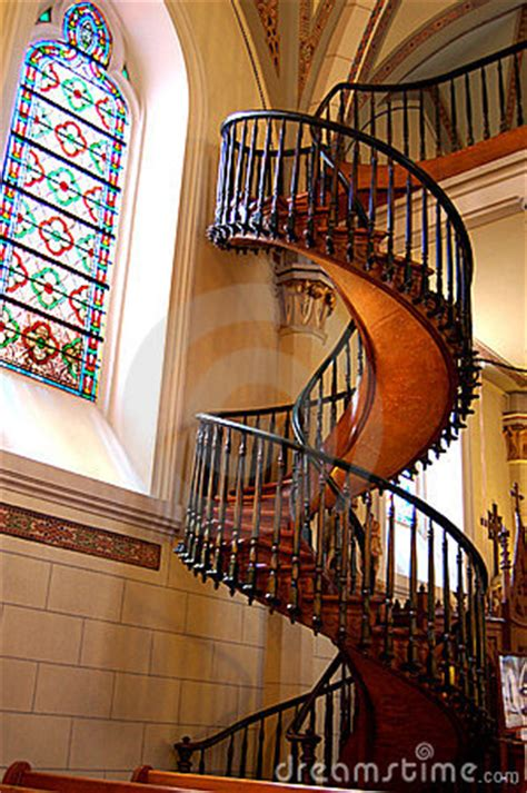 Loretto Chapel Staircase Royalty Free Stock Images - Image