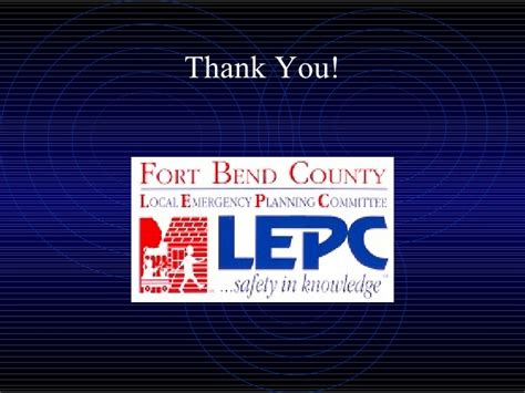 Fort Bend County Local Emergency Planning Committee - Ron