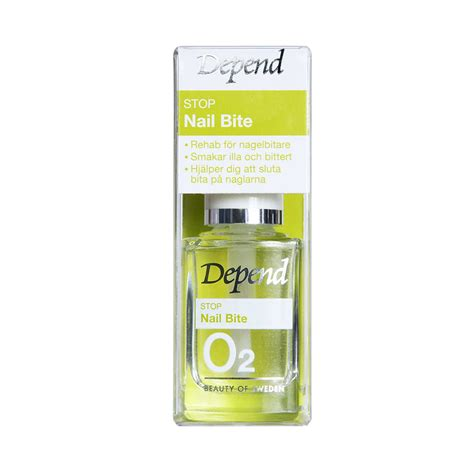 O2 Stop Nail Bite 8958 Nagelvård Depend Cosmetic Beauty of