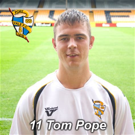 Tom Pope career stats, height and weight, age