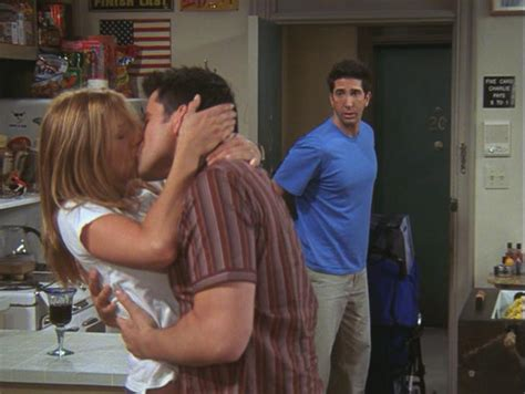 The One After Joey And Rachel Kiss | Friends Central