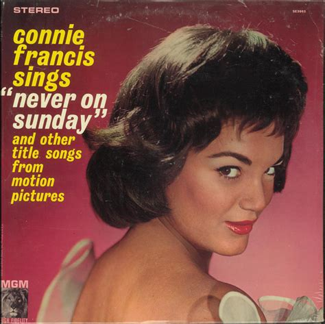 Connie Francis - Sings Never On Sunday And Other Title