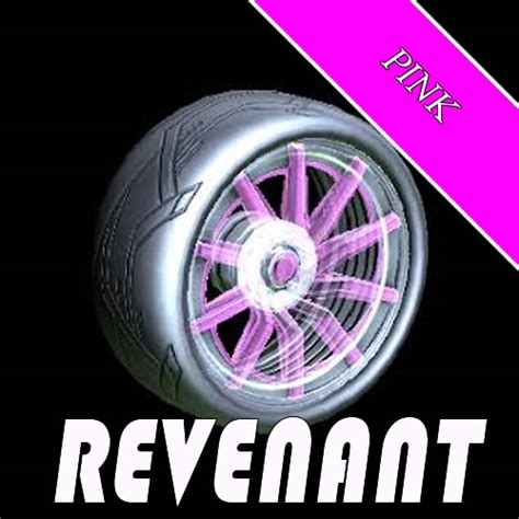 REVENANT - RL Wheels - PINK PAINTED / non certified