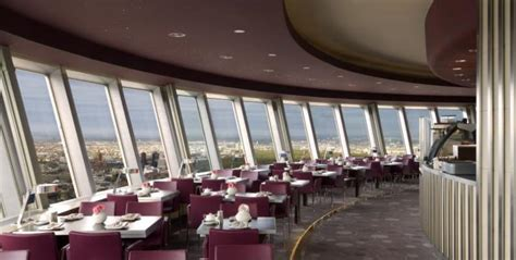 Rotating Restaurant in the TV Tower - Rooftop Restaurants