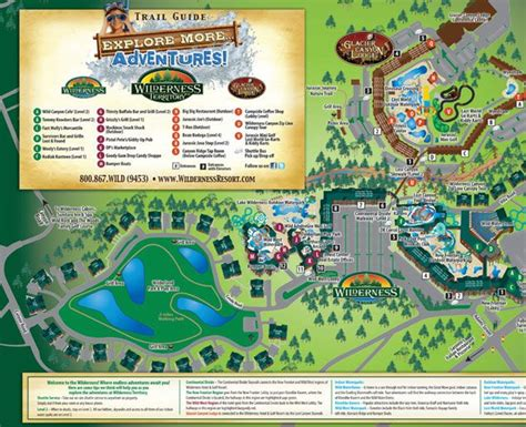 WIlderness Resort Map Join us for the SPLASH - Click on