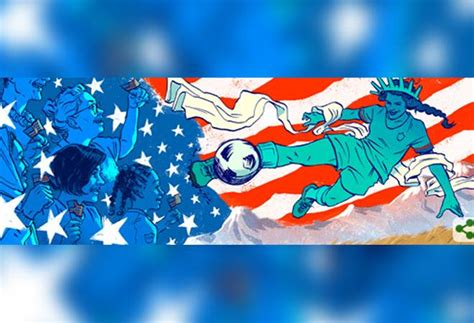 Google marks FIFA Women's World Cup final with a special