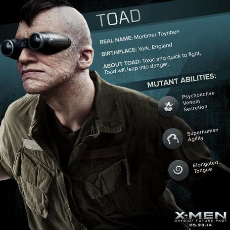 Toad - The mutants of X-Men - Pictures - CBS News