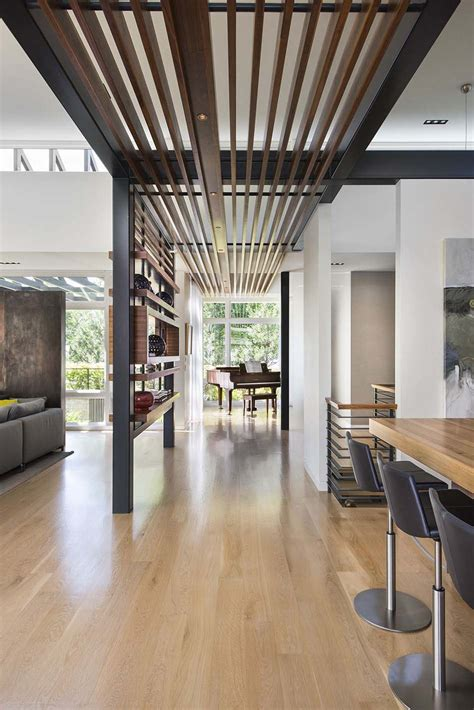 Single-Story Ranch with Large Atrium Spaces