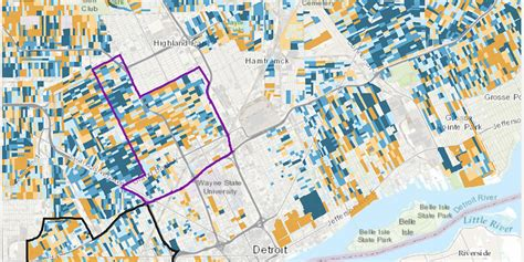 This interactive map predicts Detroit gentrification, or