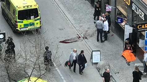 'Everything Indicates' Terror Attack in Stockholm - Video